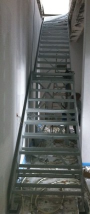 Stahltreppe