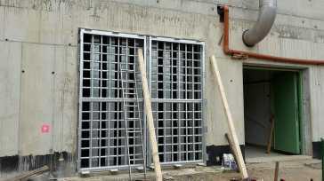 Düsseldorf Fassadenbefahranlage, Schweißkonstruktion Eschweiler, Schweißtechnik HKS